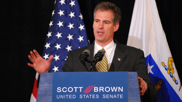 Scott Brown's election to the Senate in 2010 stunned the political world. He was out of office three years later.