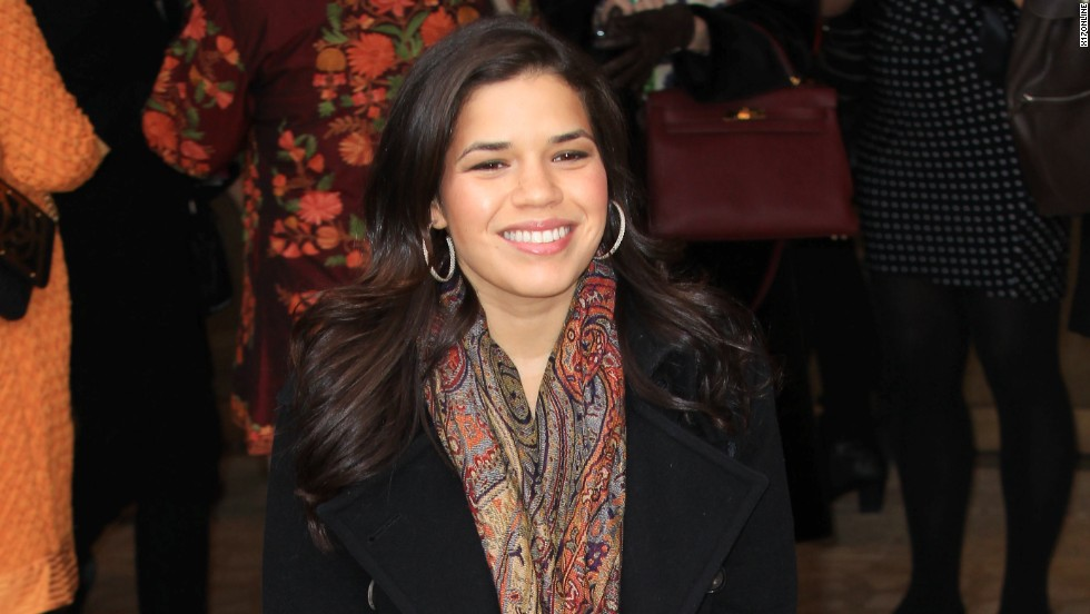 America Ferrera attends Women in the World Summit 2013 on April 4, 2013 in New York City.