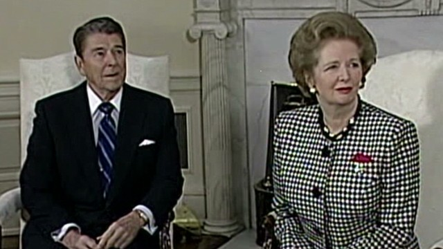 How Thatcher, Reagan clicked