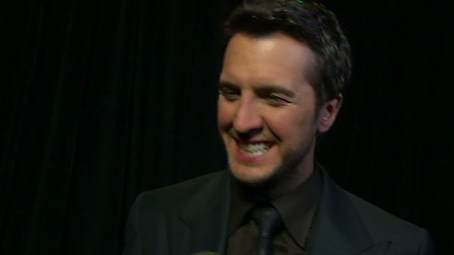 Luke Bryan talks to CNN following the 2013 Academy of Country Music awards on Las Vegas, Nevada.