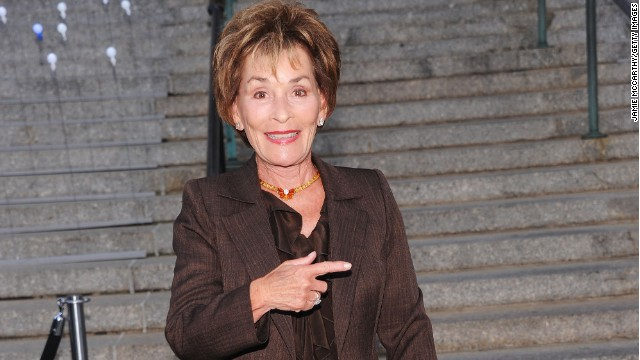 Judge Judy Sheindlin already has her own very popular court TV show.