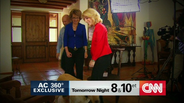 Giffords and Kelly talk with CNN
