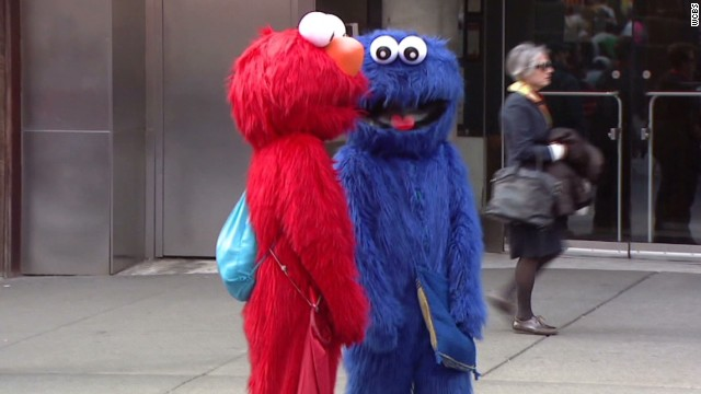 Did a 'Cookie Monster' shove a toddler?