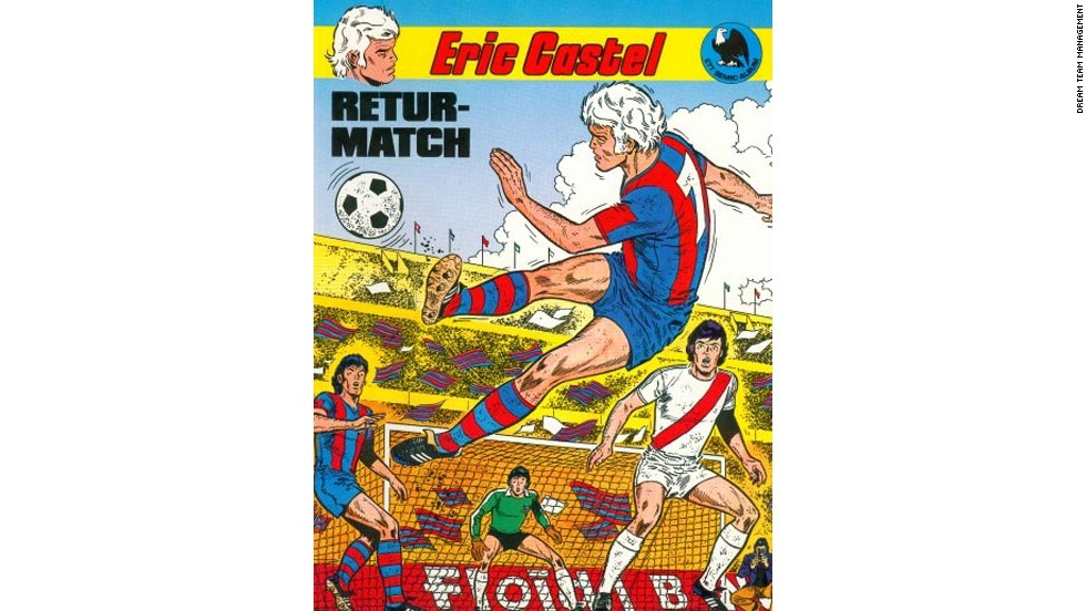 "The first edition of Eric Castel was published in 1979 and focused on the Barcelona player meeting a group of young fans known as the ""Pablitos"". The second edition, entitled ""Retur-Match"" or ""Second-Leg"" was released later the same year."