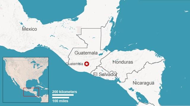 Guatemala Confronts A Dark Chapter CNN - Guatamala map