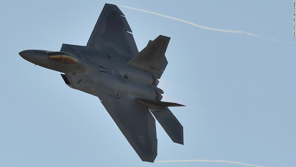 Air Force fighter jets a casualty of budget cuts