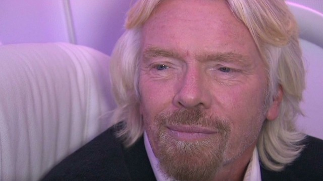 Branson continues to break down barriers