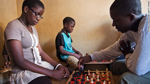 Uganda's teenage chess star