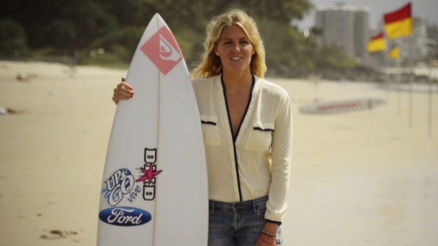 Gilmore: Surfing can be feminine