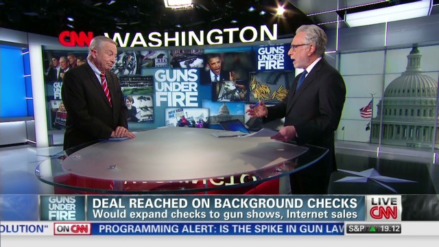 The battle against background checks