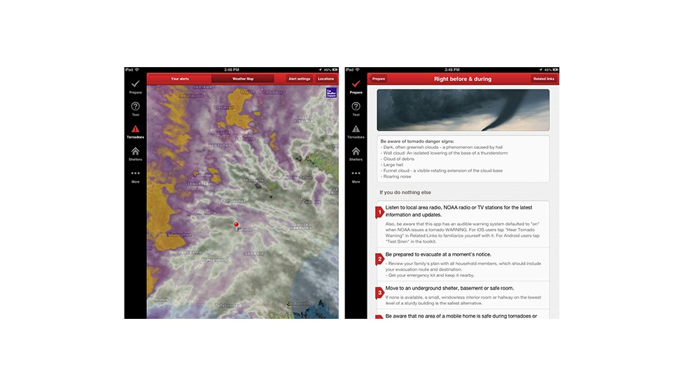 7 mobile tools to help you survive tornadoes