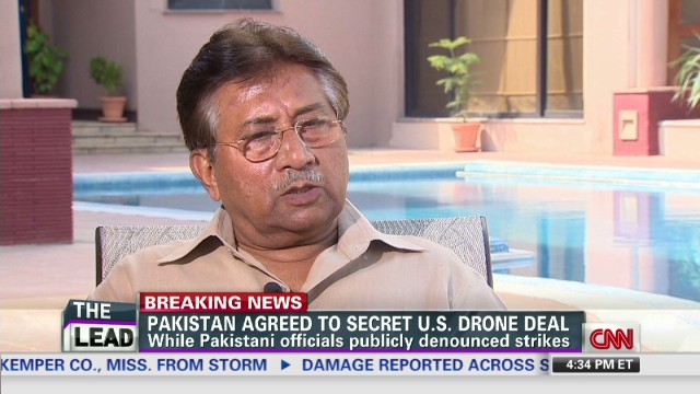 Musharraf comes clean on drone strikes