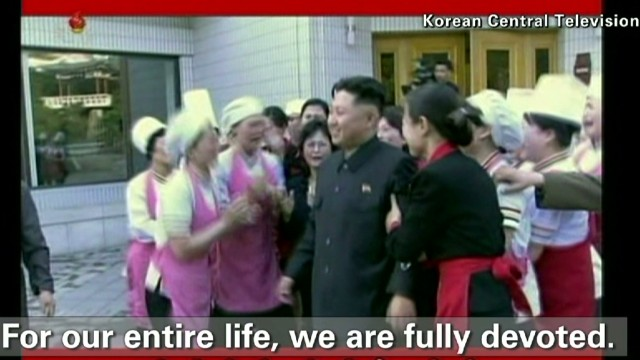 Regime propaganda as news in North Korea