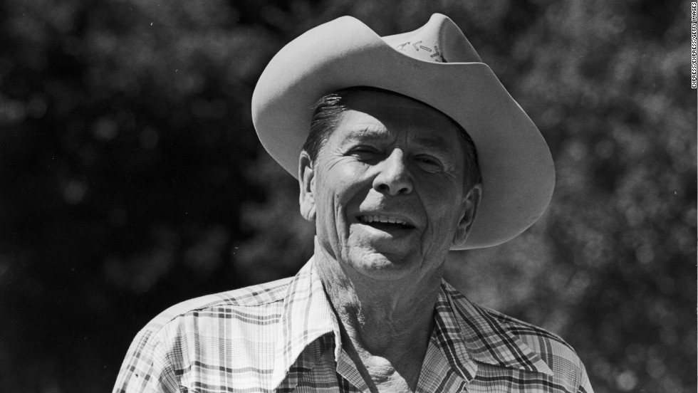 President-elect Ronald Reagan is just a regular rancher at his spread in California shortly before his inauguration in 1981.