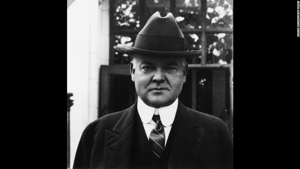Fedora was the style for Herbert Hoover in the early '20s before becoming president. At the time he was secretary of commerce in President Warren G. Harding's Cabinet.