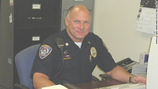 Danville Police Chief Wade Parsons is accused of leaving his pistol on top of a safe in his bedroom closet.