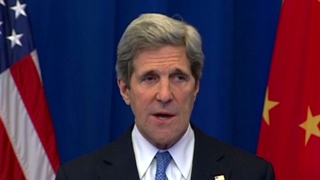 Kerry visits China amid N. Korea tensions