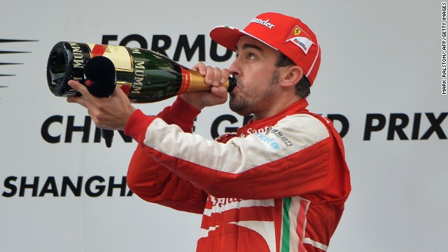 Fernando Alonso is hoping to claim a second victory of the season on Sunday.