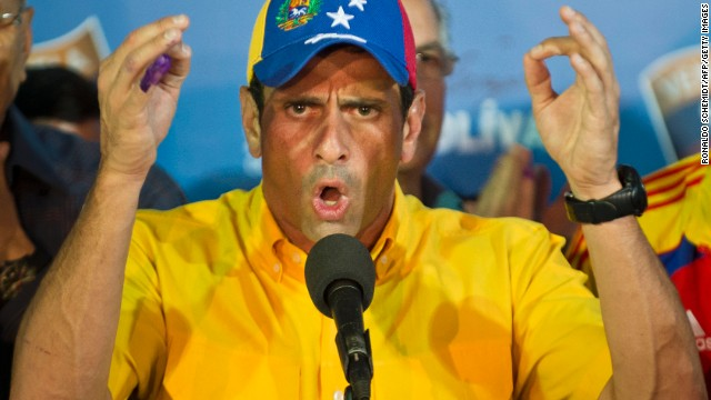 Capriles to Maduro: 'You are the loser'
