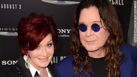 Sharon Osbourne says she forced an assistant to enter a burning house to recover works of art and then fired him