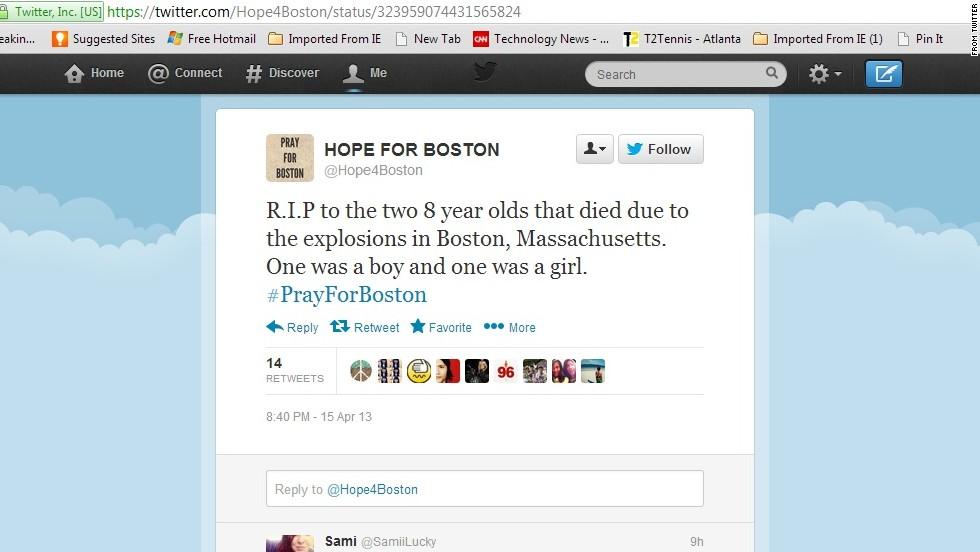 5 viral stories about Boston attacks that aren't true