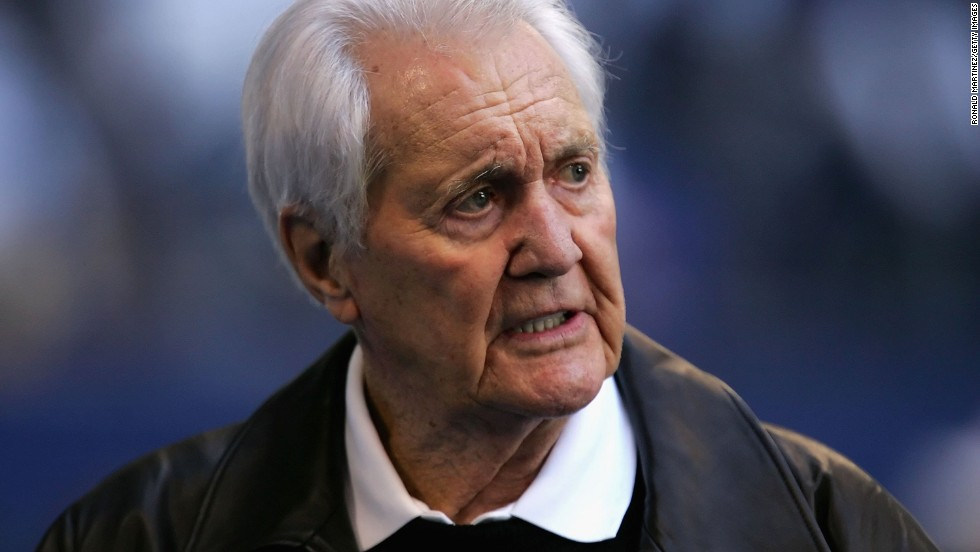 "<a href=""http://www.cnn.com/2013/04/16/us/sports-pat-summerall-obit/index.html"">Pat Summerall</a>, the NFL football player turned legendary play-by-play announcer, was best known as a broadcaster who teamed up with former NFL coach John Madden. Summerall died April 16 at the age of 82."
