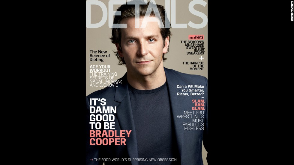 "Bradley Cooper opens up about his father's passing, living with his mother and his own aspirations for fatherhood <a href=""http://www.details.com/celebrities-entertainment/cover-stars/201305/bradley-cooper-hangover-part-3"" target=""_blank"">in the May issue of Details. </a>"