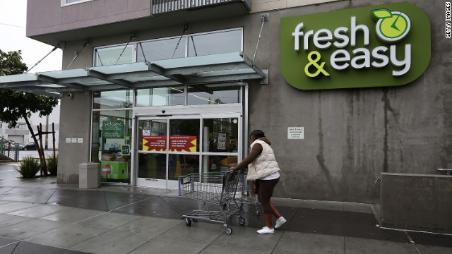 Britain's biggest retailer by sales said it had taken a £1bn charge for quitting its failed US venture Fresh & Easy.