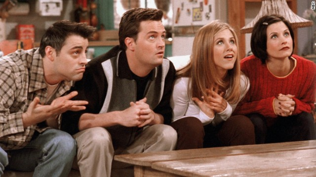"""Friends"" is one of several shows that will be airing a marathon of episodes on Thanksgiving."
