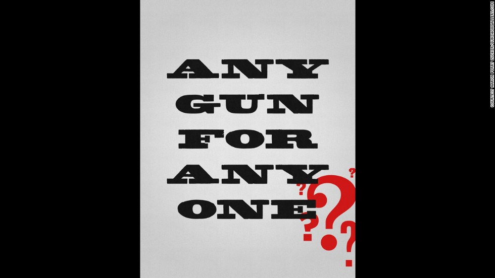 """Any Gun"" by Aaron Perry Zucker"