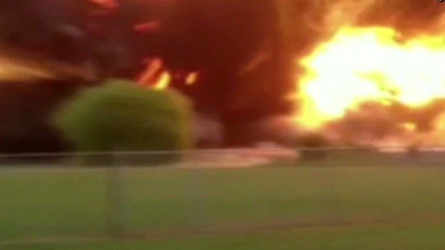 Watch fertilizer plant explode