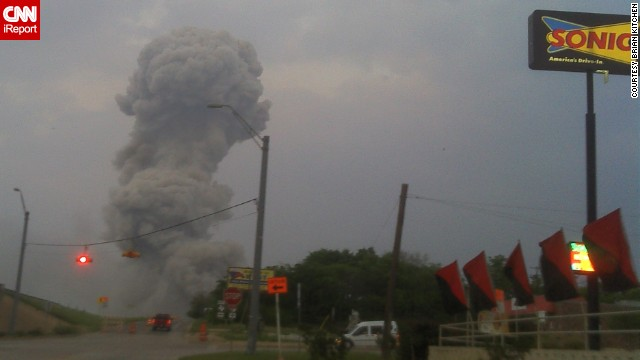 An explosion Wednesday night at a fertilizer plant in West Texas, Texas, injured at least 160 people.