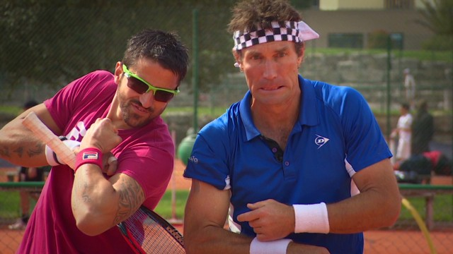 Tipsarevic's clay court master class
