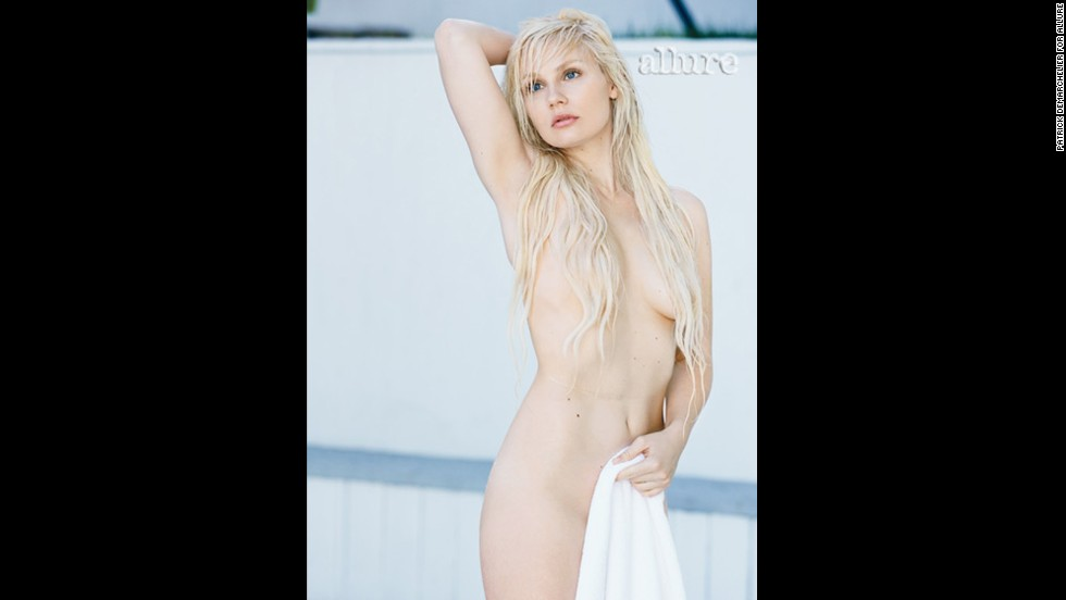 """Nashville"" actress Clare Bowen had a now-or-never approach to the nude photo shoot. ""My body isn't going to look like this forever,"" <a href=""http://www.allure.com/celebrity-trends/2013/naked-celebrities-photos-allure-may-2013#slide=3"" target=""_blank"">she told Allure</a>. ""I think it's lovely to have that preservation."""
