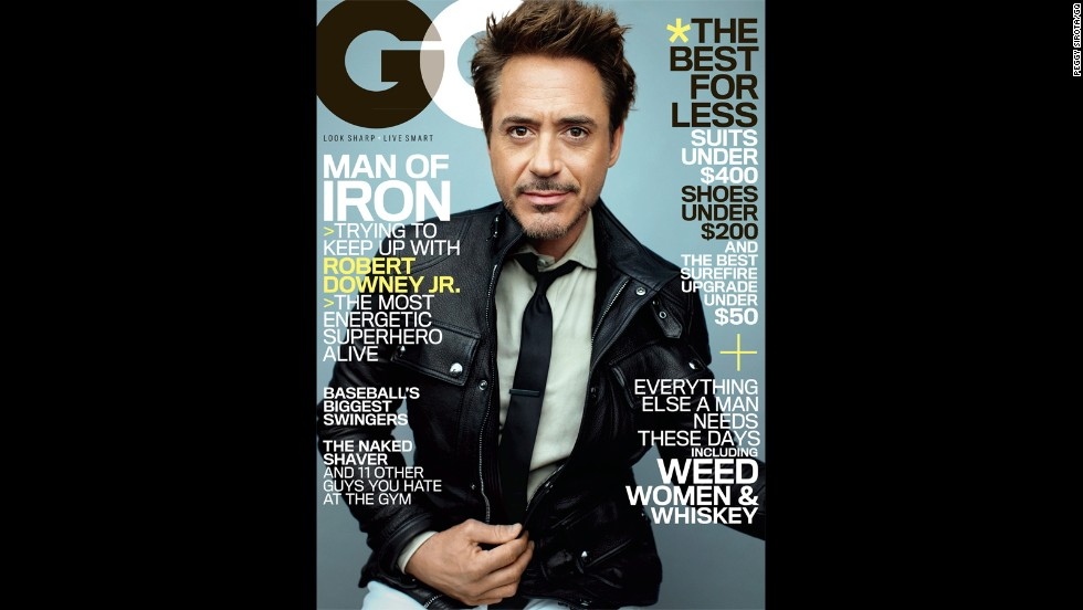 "Robert Downey Jr. is a master of the humble-brag. In the <a href=""http://www.gq.com/entertainment/movies-and-tv/201305/robert-downey-jr-profile-may-2013"" target=""_blank"">May issue of GQ magazine</a>, the ""Iron Man 3"" star said he's ""probably one of the best. ...But it's not that big a deal. It's not like this is the greatest swath or generation of actors that has ever come down the pike."""