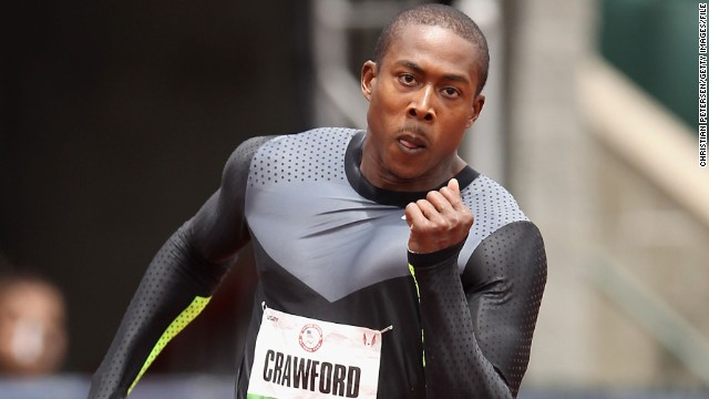 American sprinter Shawn Crawford won 200 meters gold at the Athens 2004 Olympic Games.