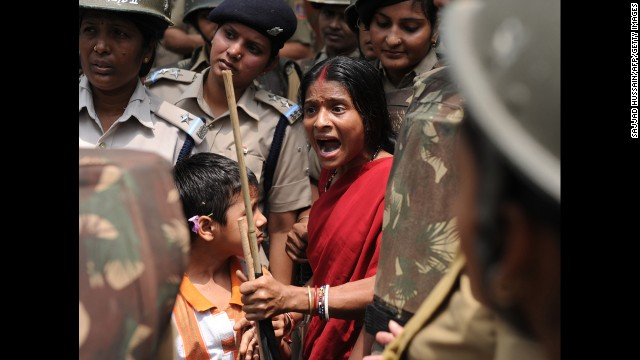 Rape of child sparks India protests