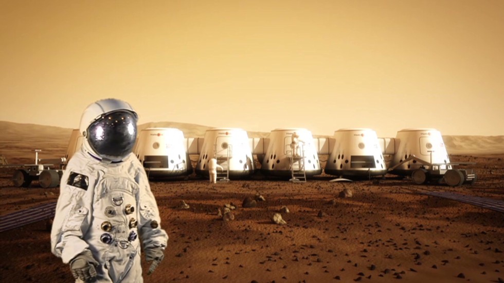 A one-way ticket to Mars, apply now