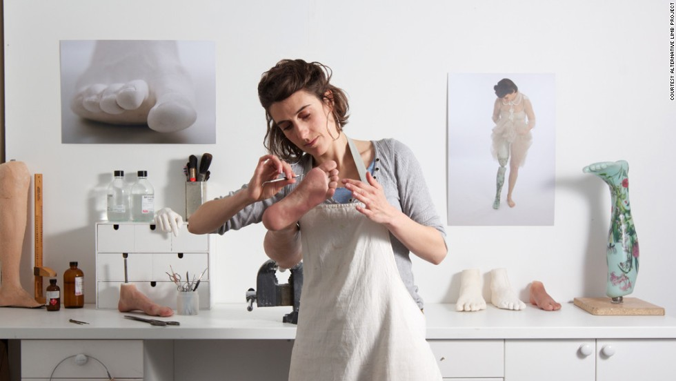 Sophie de Oliveira Barata is director of the Alternative Limb Project (ALP). She says she is challenging the belief that prosthetic limbs should aim to look as realistic as possible.