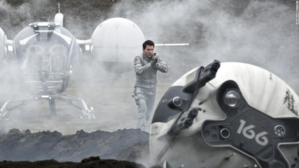 "Cruise has apparently developed a taste for sci-fi in his later years, as prior to ""Edge of Tomorrow"" he starred in another futuristic flick called ""Oblivion."" Playing a veteran who's sent to Earth to extract the planet's remaining resources, Cruise's turn alongside Morgan Freeman was met with a modest reception."