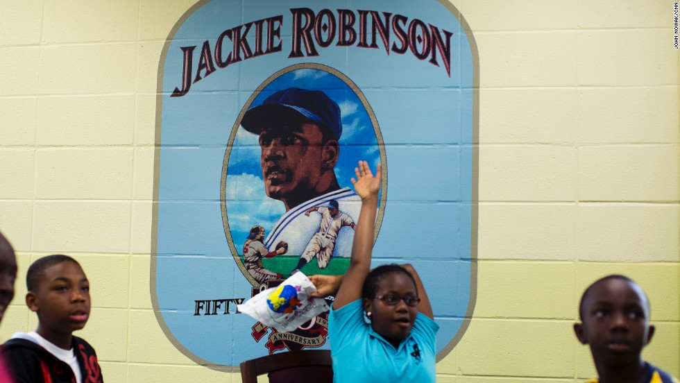 Jackie Robinson was born in 1919 into a family of sharecroppers in Cairo, Georgia, and went on to become the first black player in the modern era of Major League Baseball. The local Boys and Girls Club was recently named after him.
