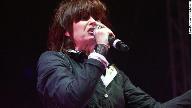 Chrissy Amphlett from The Divinyls perfoms at Fremantle Oval on December 22, 2007 in Perth, Australia.
