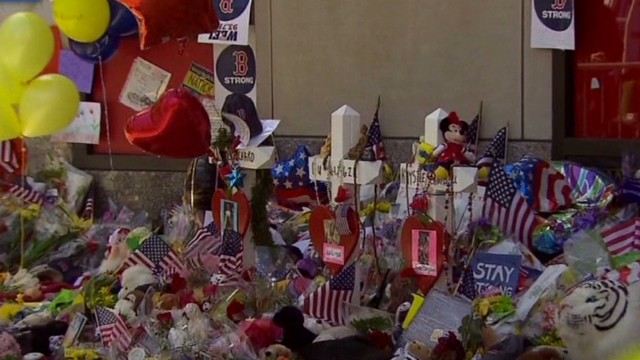 Memorial: 'We are Boston strong'
