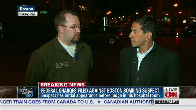 Doctor treated Boston suspects, victims