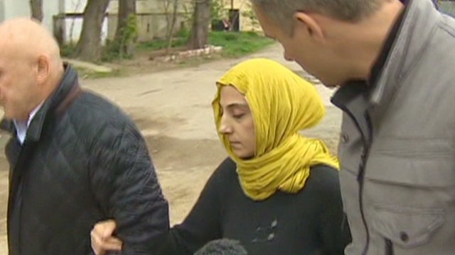 Bombing suspects' mother speaks to CNN