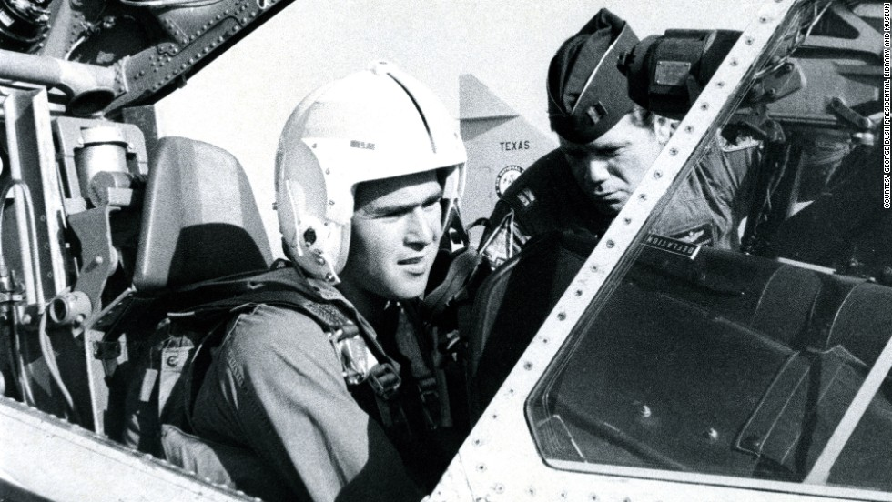 Former President George W. Bush flew an F-102 while serving in the Texas Air National Guard between 1968-1973.