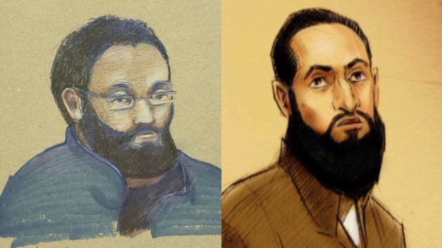 Terror suspects arrested in Canada