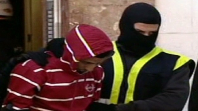 Terror suspects arrested in Spain