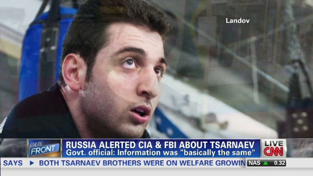 What did Russia know about Tsarnaev?
