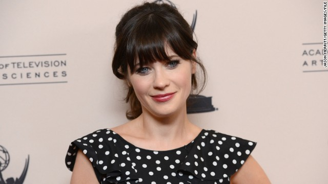 "The ""New Girl"" star describes herself as a ""fashion fanatic."""